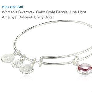 Alex and Ani June Birthstone Bracelet